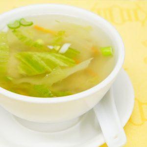 Wan-Tans soup