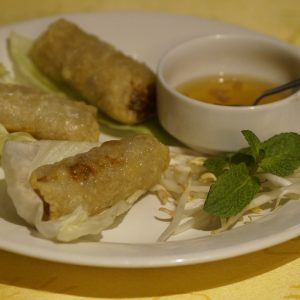 Vietnamese spring rolls (Nem)